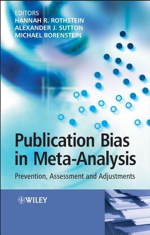 Publication Bias in Meta-Analysis: Prevention, Assessment and Adjustments (0470870141) cover image