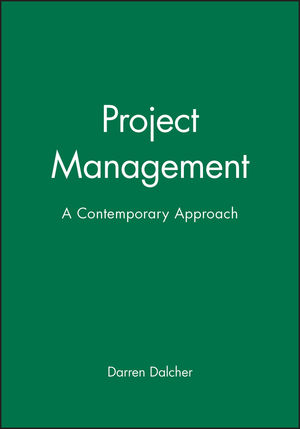 Project Management: A Contemporary Approach