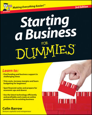 Starting a Business For Dummies, 3rd UK Edition (0470978341) cover image