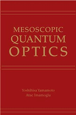 Mesoscopic Quantum Optics (0471148741) cover image