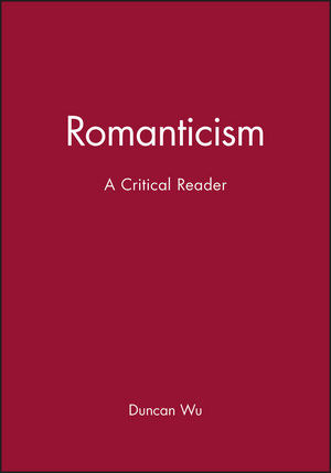 Romanticism: A Critical Reader (0631195041) cover image
