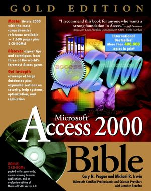 Microsoft® Access 2000 Bible, Gold Edition