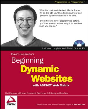 Beginning Dynamic Websites: with ASP.NET Web Matrix (0764543741) cover image