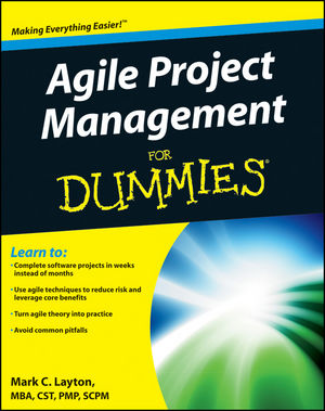 Agile Project Management For Dummies (1118026241) cover image
