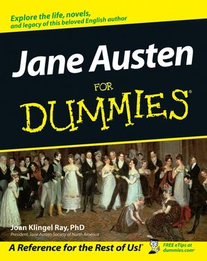 Jane Austen For Dummies (1118050541) cover image