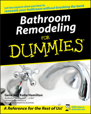 Bathroom Remodeling For Dummies (1118053141) cover image