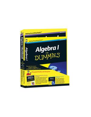 Algebra l For Dummies, 2e Bundle