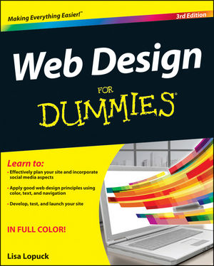 Web Design For Dummies, 3rd Edition (1118235541) cover image