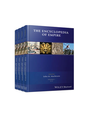 The Encyclopedia of Empire, 4 Volume Set (1118440641) cover image