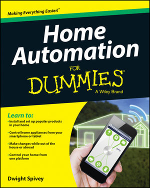 Home Automation For Dummies (1118949641) cover image