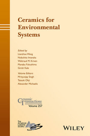 Ceramics for Environmental Systems (1119234441) cover image