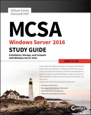 MCSA Windows Server 2016 Study Guide: Exam 70-740 (1119359341) cover image