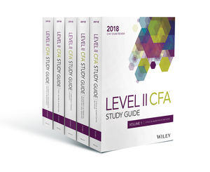 Wiley Study Guide for 2018 Level II CFA Exam: Complete Set