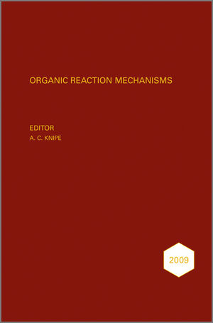 Organic Reaction Mechanisms, 2009 (1119961041) cover image