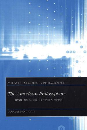 The American Philosophers, Volume XXVIII