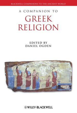 A Companion to Greek Religion (1405120541) cover image