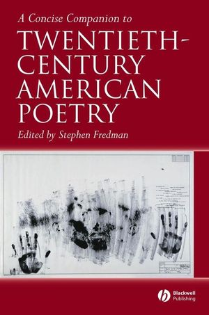 A Concise Companion to Twentieth-Century American Poetry (1405141441) cover image