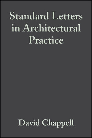 Standard Letters in Architectural Practice, 3rd Edition