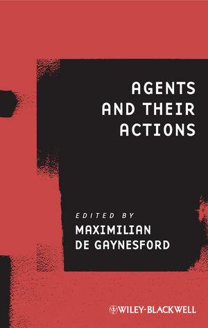 Agents and Their Actions (1444346741) cover image