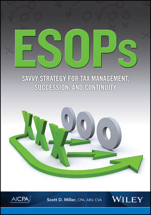 ESOPs: Savvy Strategy for Tax Management, Succession, and Continuity (1937350541) cover image