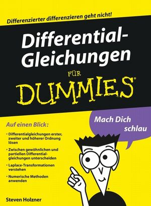 Differentialgleichungen für Dummies (3527658041) cover image