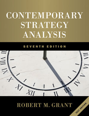 Contemporary Strategy Analysis 7th Edition (EHEP001841) cover image