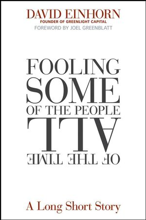 Fooling Some of the People All of the Time, A Long Short Story (0470073942) cover image