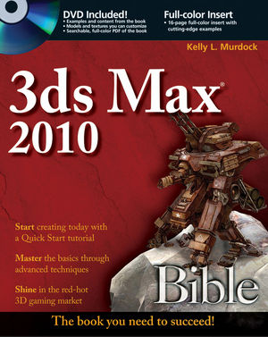 3ds Max 2010 Bible (0470543442) cover image