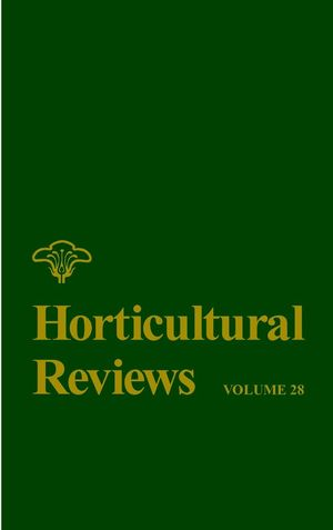 Horticultural Reviews, Volume 28 (0470650842) cover image