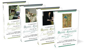 A Companion to British Literature, 4 Volume Set (0470656042) cover image