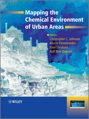 Mapping the Chemical Environment of Urban Areas (0470747242) cover image
