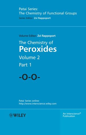The Chemistry of Peroxides, Parts 1 and 2, 2 Volume Set (0470862742) cover image