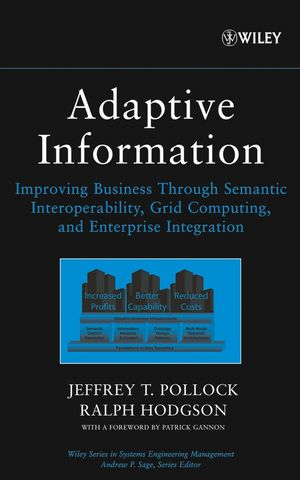 Adaptive Information: Improving Business Through Semantic Interoperability, Grid Computing, and Enterprise Integration (0471488542) cover image