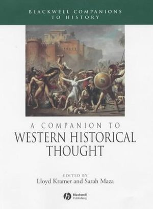 A Companion to Western Historical Thought (0631217142) cover image