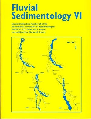 Fluvial Sedimentology VI (Special Publication 28 of the IAS) (0632053542) cover image