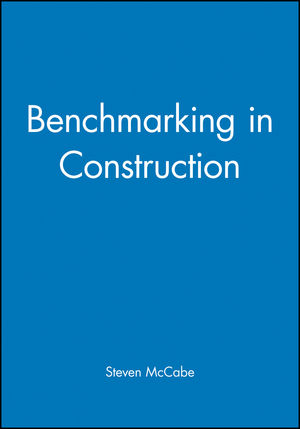 Benchmarking in Construction (0632055642) cover image