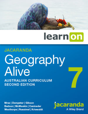 Jacaranda Geography Alive 7 Australian Curriculum 2e learnON (Online Purchase)