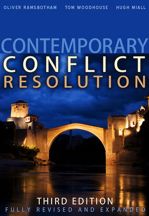 Contemporary Conflict Resolution, 3rd Edition (0745649742) cover image