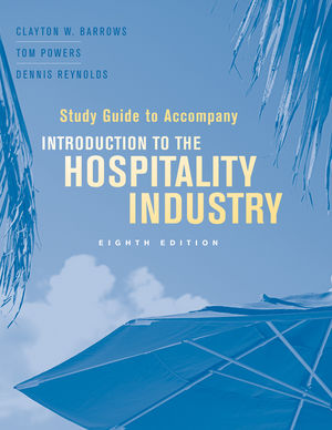Study Guide to Accompany Introduction to the Hospitality Industry, 8th Edition (1118066642) cover image