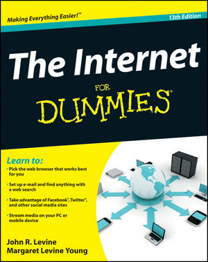 The Internet For Dummies, 13th Edition (1118096142) cover image