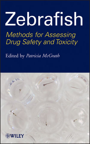 Zebrafish: Methods for Assessing Drug Safety and Toxicity (1118102142) cover image