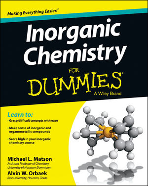 Inorganic <span class='search-highlight'>Chemistry</span> For Dummies