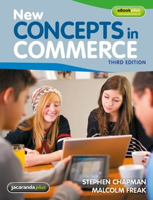New Concepts in Commerce, 3rd Edition & eBookPLUS