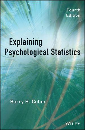 Explaining Psychological Statistics, 4th Edition (1118652142) cover image