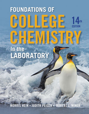 Foundations of Chemistry in the Laboratory, 14th Edition (1118692942) cover image
