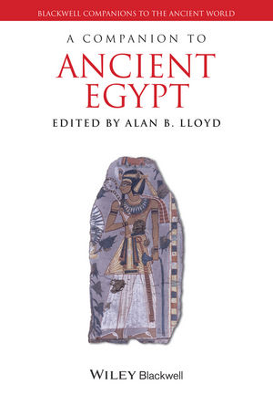 A Companion to Ancient Egypt (1118785142) cover image