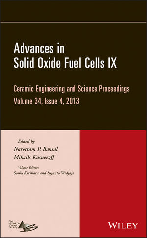 Advances in Solid Oxide Fuel Cells IX, Volume 34, Issue 4