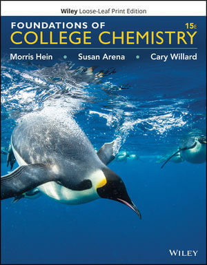 Foundations Of College Chemistry, 15th Edition | Wiley