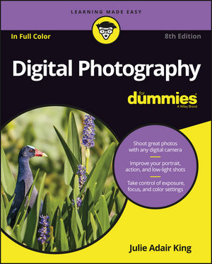 Digital Photography For Dummies, 8th Edition (1119235642) cover image