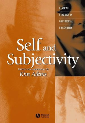 Self and Subjectivity (1405112042) cover image